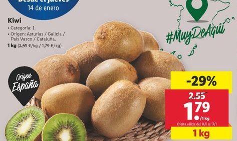 Oferta de Kiwis por 1,79€