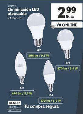 Oferta de Iluminación Livarno por 2,99€