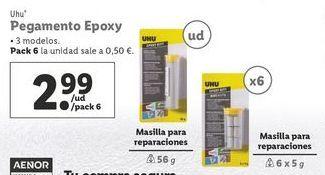 Oferta de Pegamento uhu por 2,99€