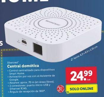 Oferta de Domótica SilverCrest por 24,99€