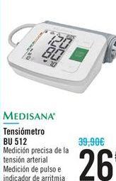 Oferta de Tensiómetro BU 512 MEDISANA por 26€