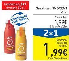Oferta de Smothies INNOCENT por 1,99€