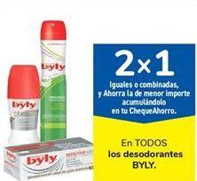 Oferta de En TODOS los desodorantes BYLY por
