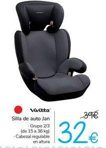 Oferta de Silla de auto Jan Vivitta  por 32€