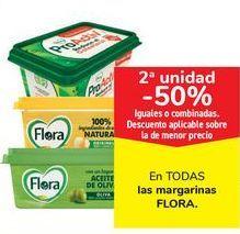Oferta de En TODAS las margarinas FLORA por