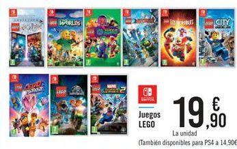 Oferta de Juegos LEGO  por 19,9€