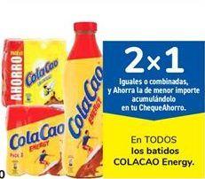 Oferta de En TODOS los batidos COLACAO Energy por