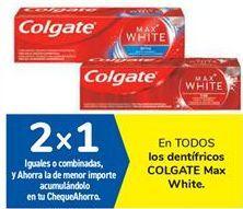 Oferta de En TODOS los dentífricos COLGATE Max White por