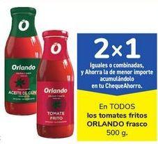 Oferta de En TODOS los tomates fritos ORLANDO frasco por