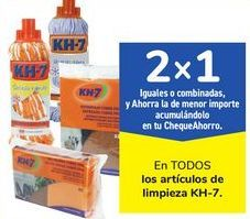 Oferta de En TODOS los artículos de limpieza KH-7 por