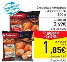 Oferta de Croquetas Artesanas LA COCINERA  por 3,69€