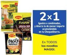 Oferta de En TODOS los noodles MAGGI por