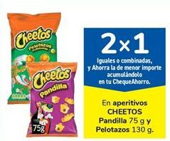Oferta de En aperitivos CHEETOS Pandilla y Pelotazos por