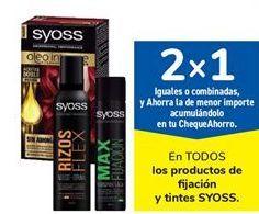 Oferta de En TODOS los productos de fijación y tintes SYOSS por