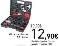 Oferta de Kit herramientas 13 Piezas  por 12,9€