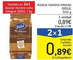 Oferta de Azúcar moreno intenso SIDUL por 0,89€
