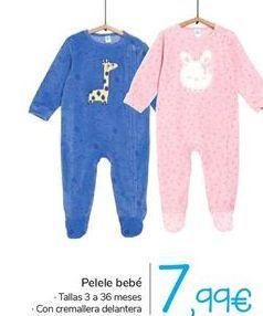 Oferta de Pelele bebé  por 7,99€