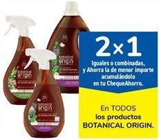 Oferta de En TODOS los productos BOTANICAL ORIGIN por