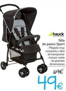 Oferta de Silla de paseo Sport Hauck  por 49€