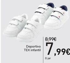 Oferta de Deportivo TEX Infantil  por 7,99€