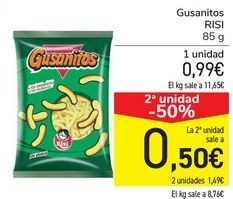 Oferta de Gusanitos RISI  por 0,99€