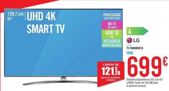 Oferta de TV 55NANO816 LG por 699€