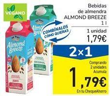 Oferta de Bebida de almendra ALMOND BREEZE por 1,79€