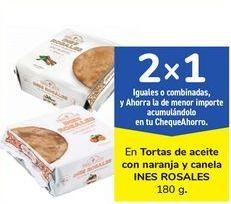 Oferta de En Tortas de aceite con naranja y canela INES ROSALES por
