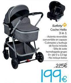 Oferta de Coche Hello 3 in 1 Safety  por 199€