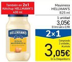 Oferta de Mayonesa HELLMAN'S  por 3,05€