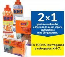 Oferta de En TODOS las fregonas y estropajos KH-7 por