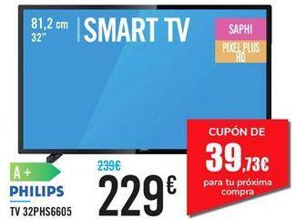 Oferta de TV 32PHS6605 PHILIPS por 229€