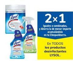 Oferta de En TODOS los productos desinfectantes LYSOL por