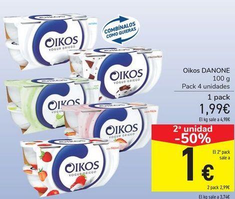 Oferta de Oikos DANONE por 1,99€