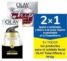 Oferta de En TODOS los productos para el cuidado facial OLAY Total Effects y Whip por