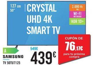 Oferta de TV 50TU7125 SAMSUNG  por 439€