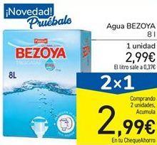 Oferta de Agua BEZOYA por 2,99€