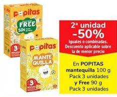 Oferta de En popitas mantequilla y Free por