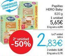 Oferta de Papillas HERO Baby  por 5,65€