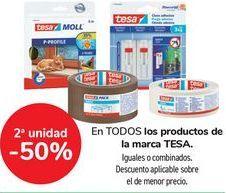 Oferta de En TODOS los productos de la marca TESA  por