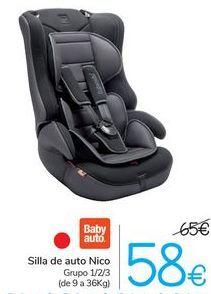 Oferta de Silla de auto Nico  por 58€