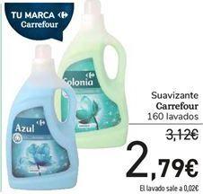 Oferta de Suavizantes Carrefour  por 2,79€