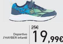 Oferta de Deportivo J'HAYBER Infantil  por 19,99€