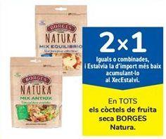 Oferta de En TODOS los cocktail de frutos secos BORGES Natura por