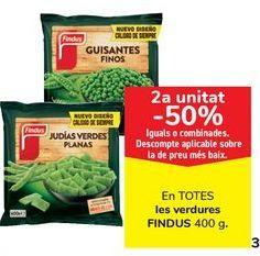 Oferta de En TODAS las verduras FINDUS  por