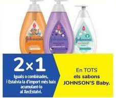 Oferta de En TODOS los jabones JOHNSON'S Baby por