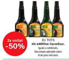 Oferta de En TODOS los aditivos Carrefour, iguales o combinados  por