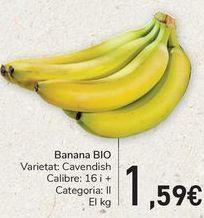 Oferta de Banana BIO  por 1,59€