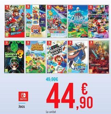Oferta de Juegos   por 44,9€