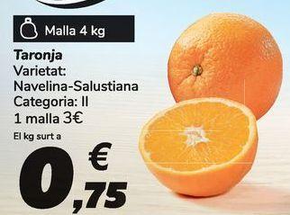Oferta de Naranja por 3€